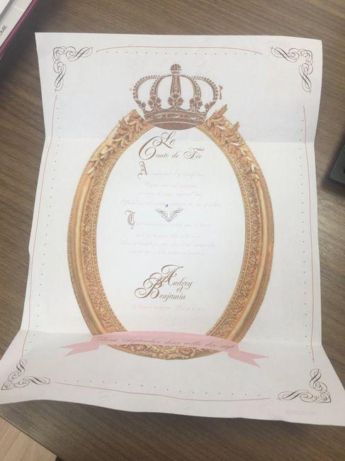 Populaire Texte faire part royal/feerique - Avant le mariage - Forum  PJ52