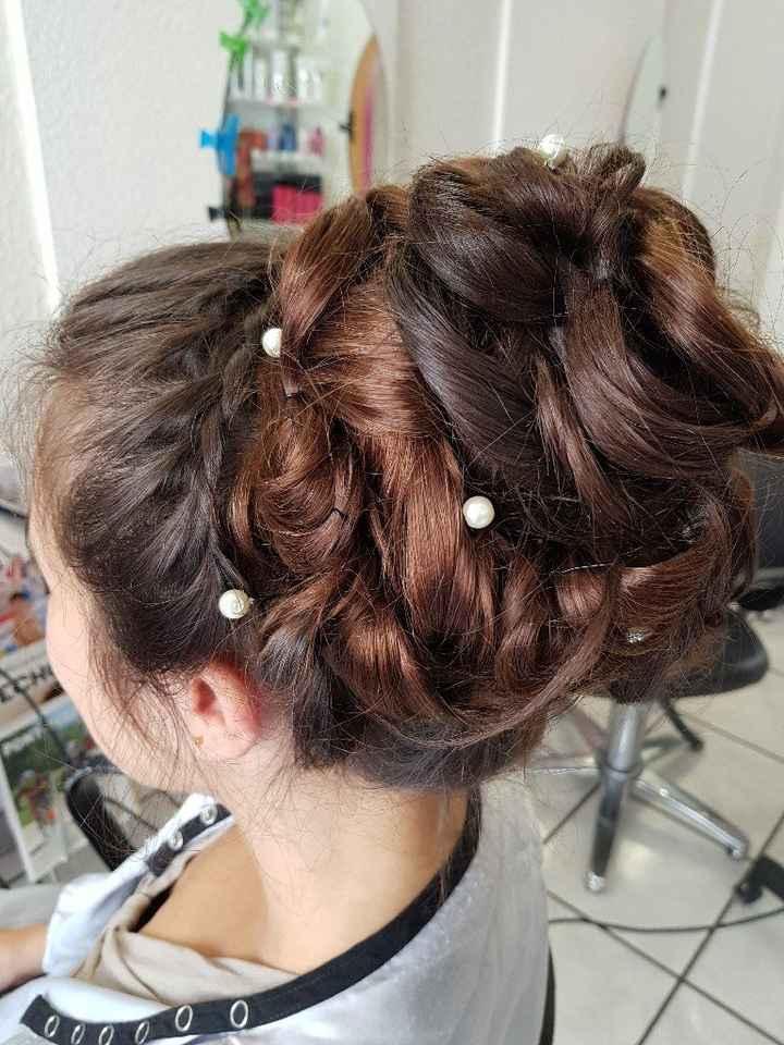 Avis coiffure mariée - 1