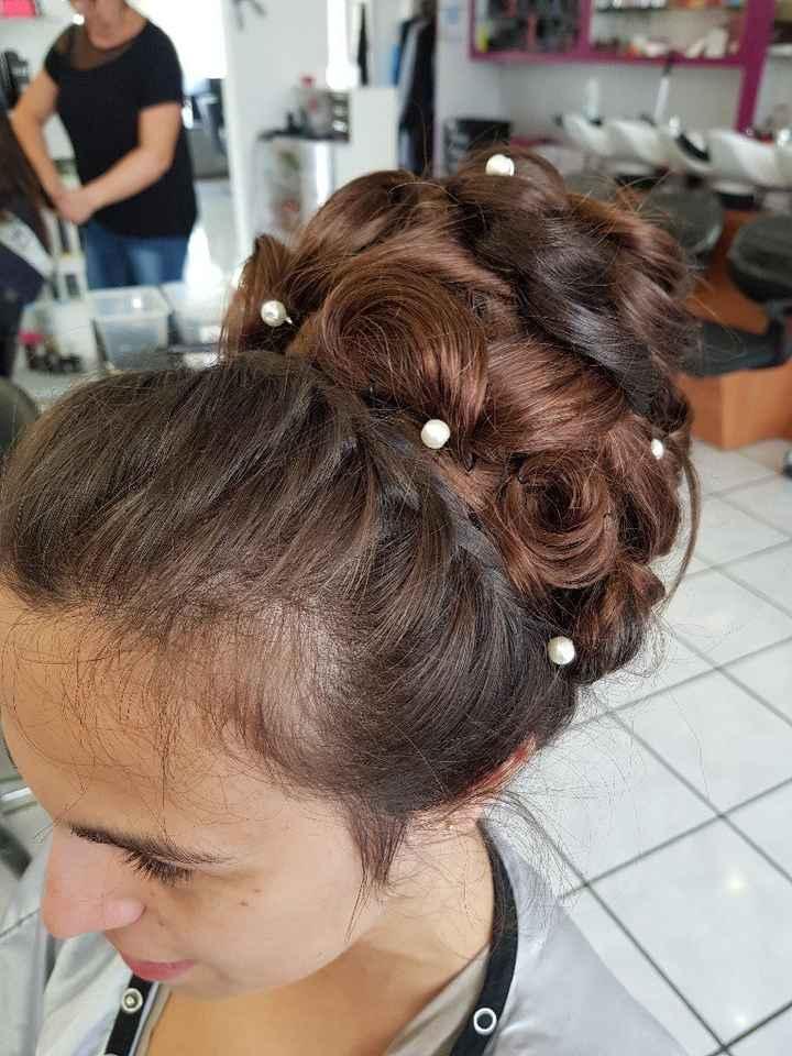 Avis coiffure mariée - 2