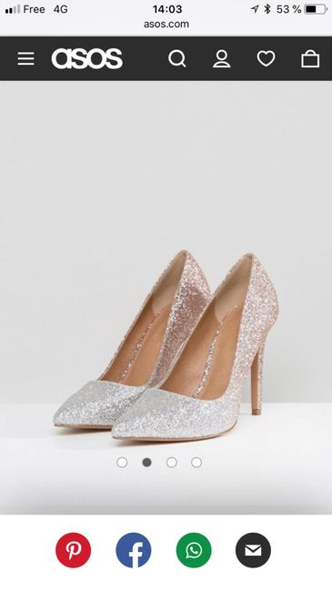 Chaussure asos reçu Mode nuptiale Forum