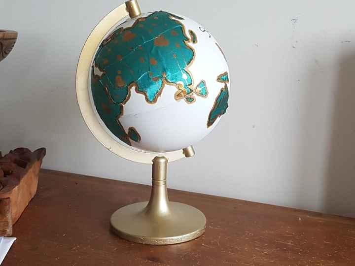 Customisation globe terrestre - 2
