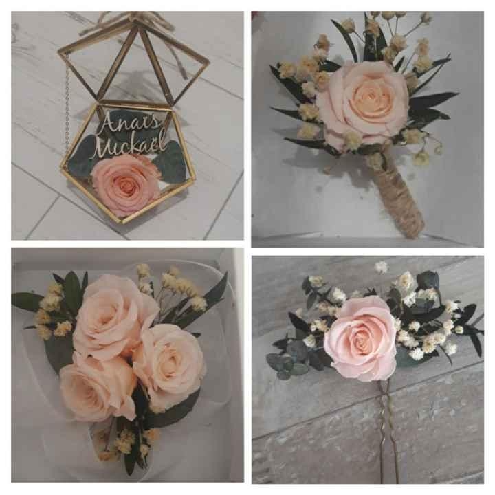 Accessoires en fleurs stabilisés 💐 - 1