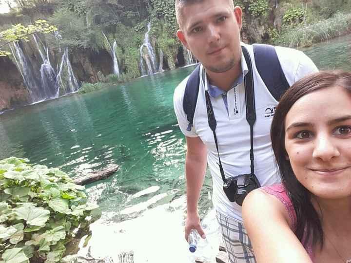 On a été  à croatie - 1