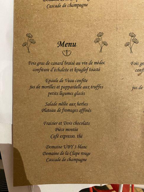 dyi porte menu et menu.... 4