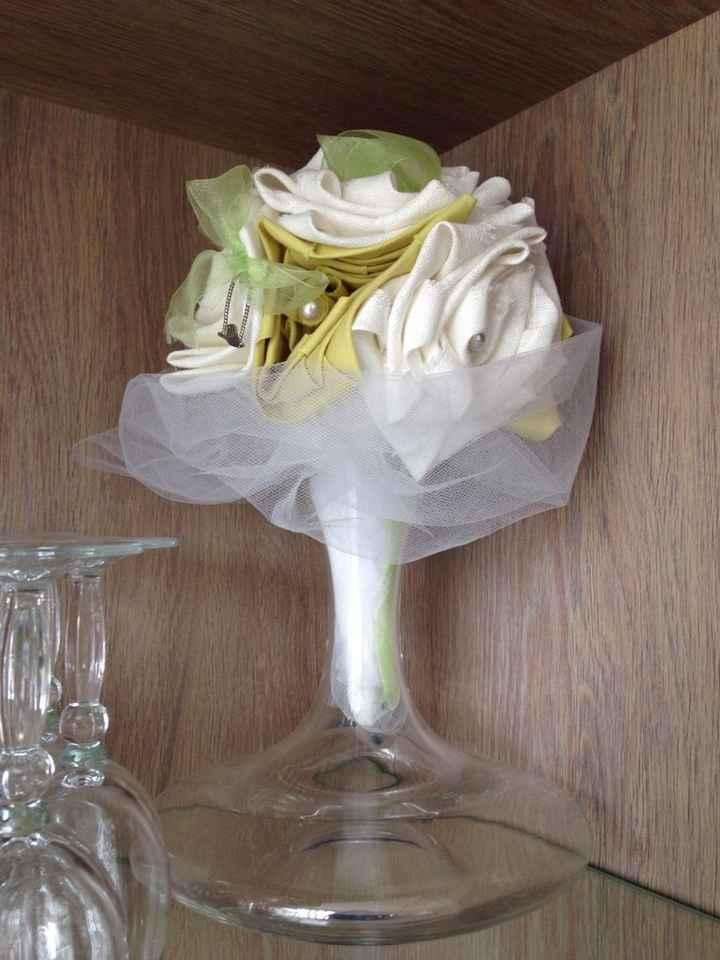 Bouquet en tissu, déjà testé? - 1