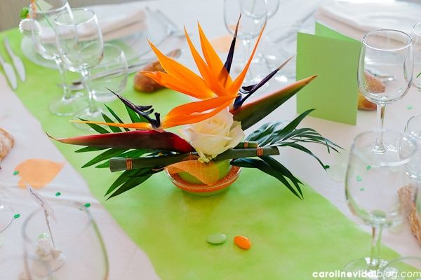 decoration orange et vert. Black Bedroom Furniture Sets. Home Design Ideas