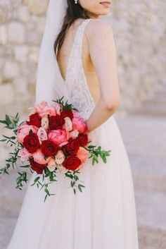 Des roses gais pour un mariage lumineux !
