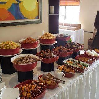 Inspiration buffet africain (chauffe plat)/sans traiteur . 3