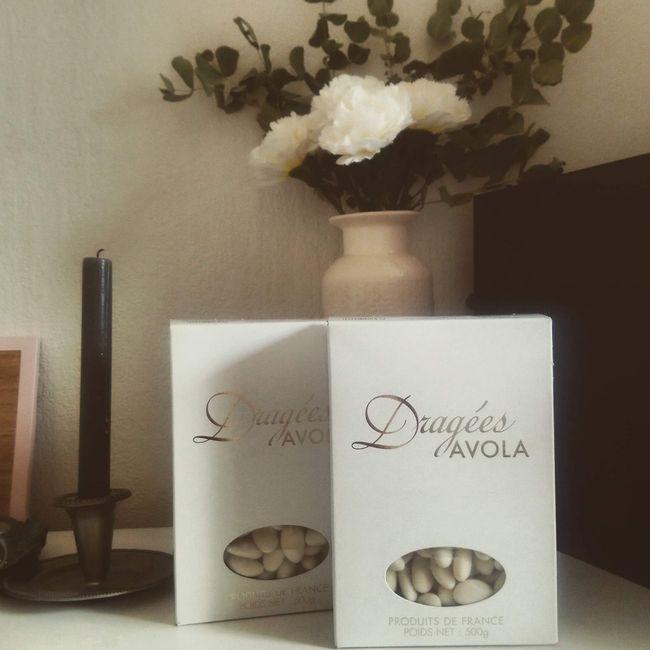 Dragées ivoire perles 2