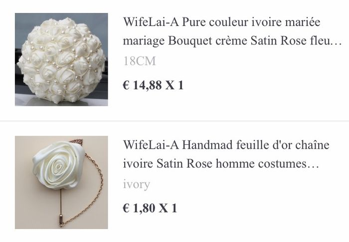 Bouquet 💐 en tissus...? 2