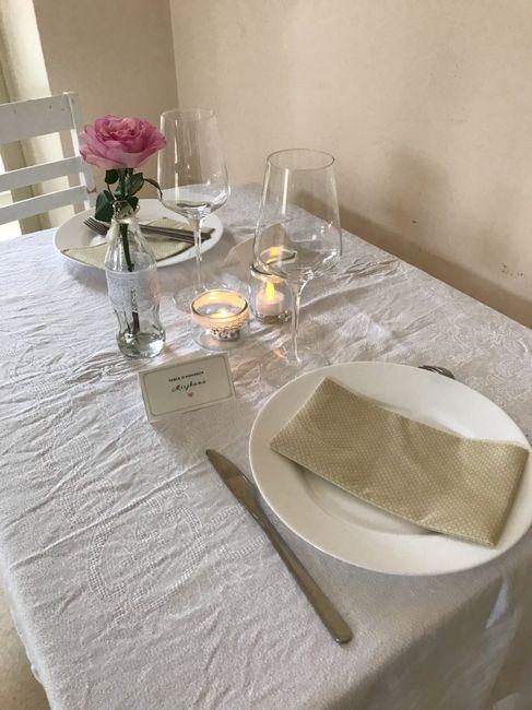 Décoration de table /et d'honneur ... 1