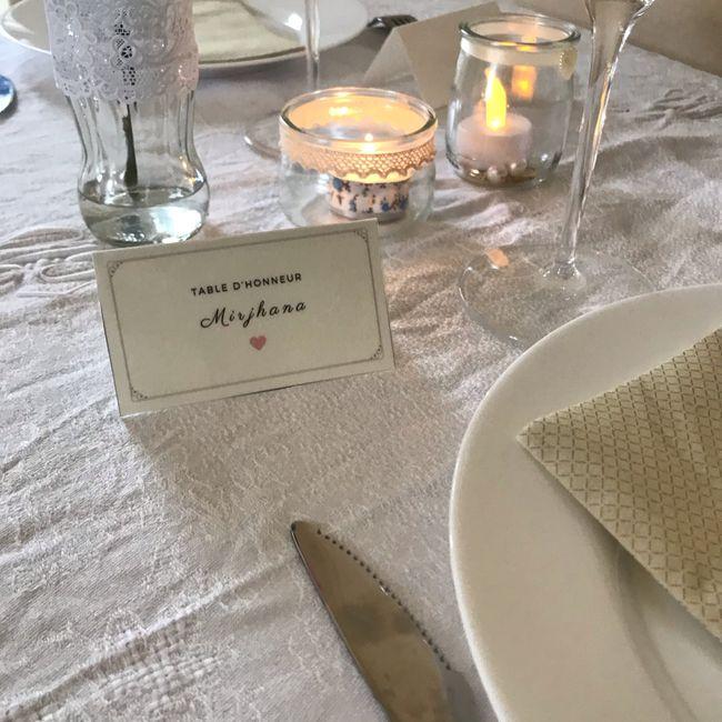 Décoration de table /et d'honneur ... 2