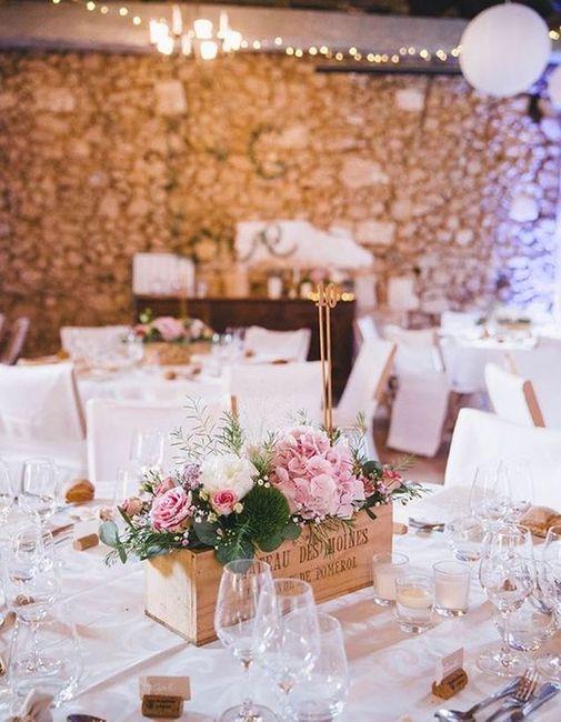Inspi centre table mariés. 1