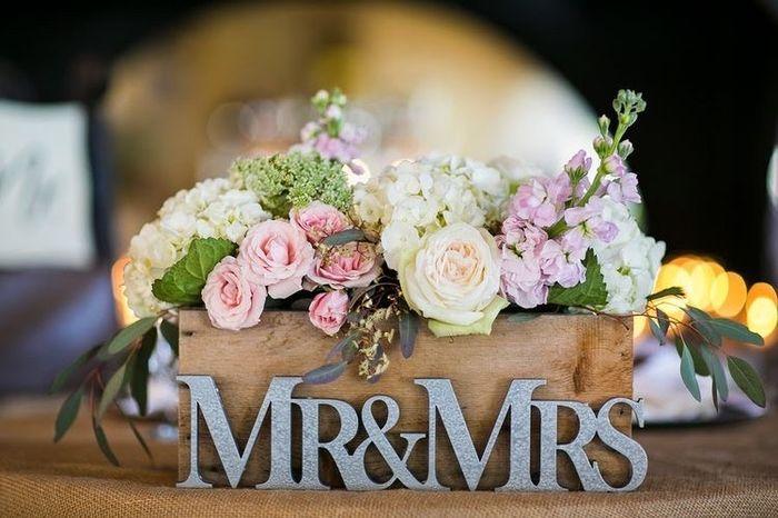Inspi centre table mariés. 3