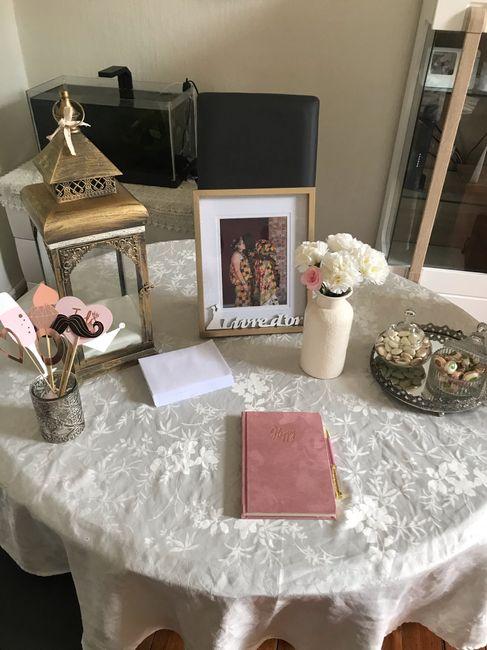 Essaie Table à urne 🗳 & livre d'or 📖 1