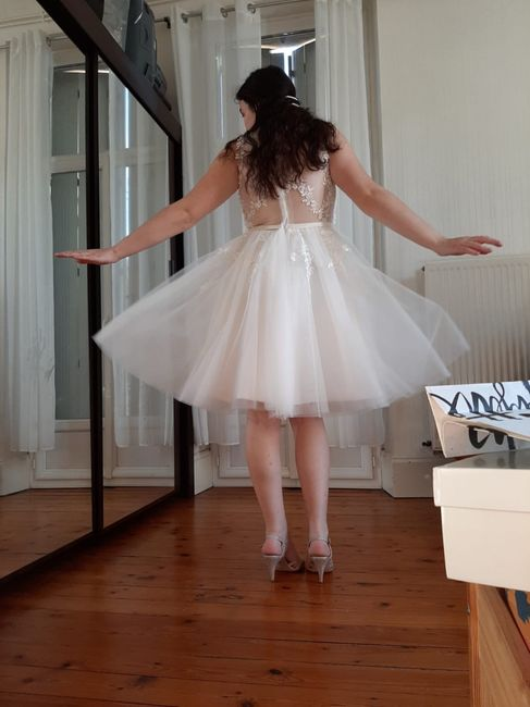 Retouches de ma robe mariage 👰 Danse de la joie ! 1