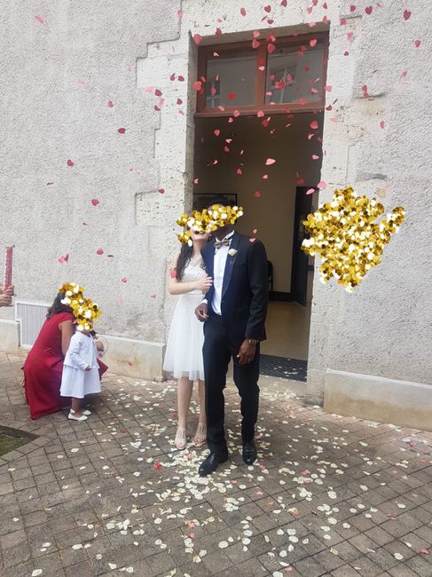 Mariage civil le 25juillet ! 💕 des masques et de l'amour . 1