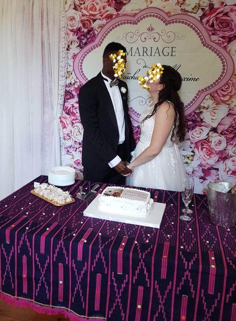 Mariage civil le 25juillet ! 💕 des masques et de l'amour . 2