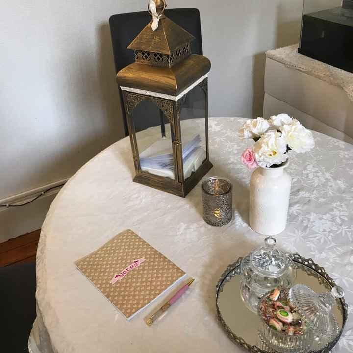 Essaie table à urne - 1