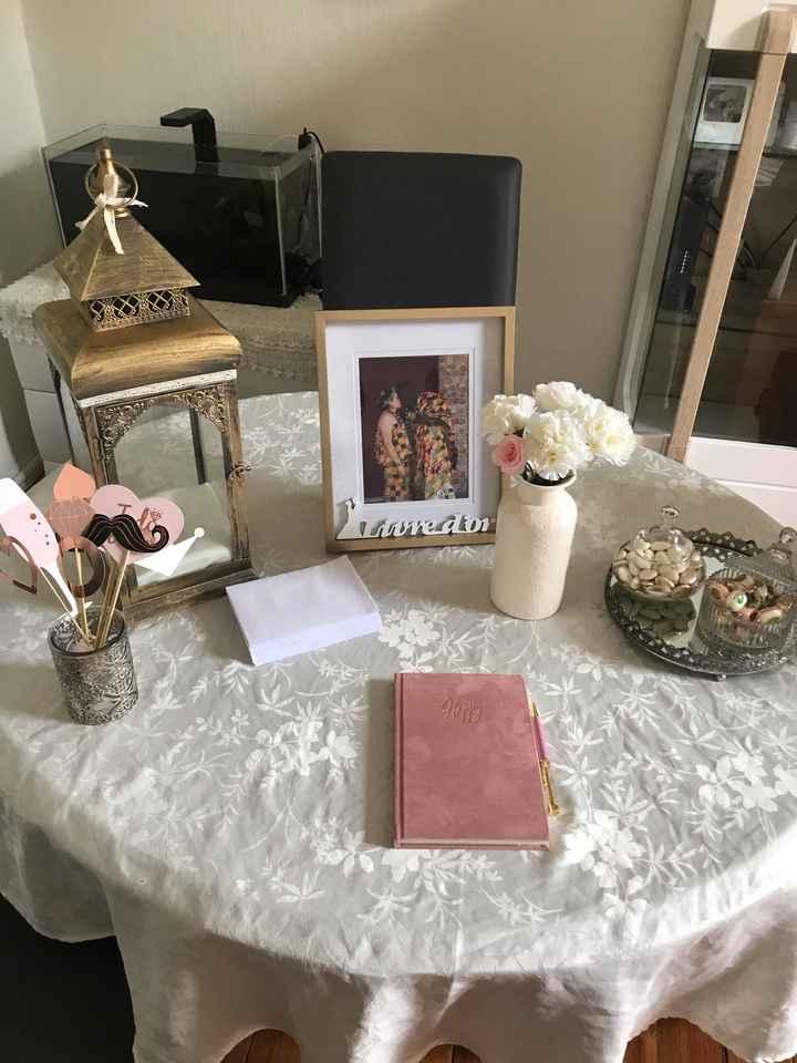 Essaie Table à urne 🗳 & livre d'or 📖 - 1