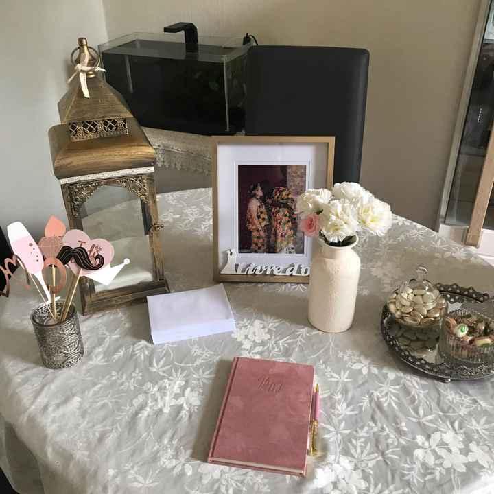 Essaie Table à urne 🗳 & livre d'or 📖 - 2