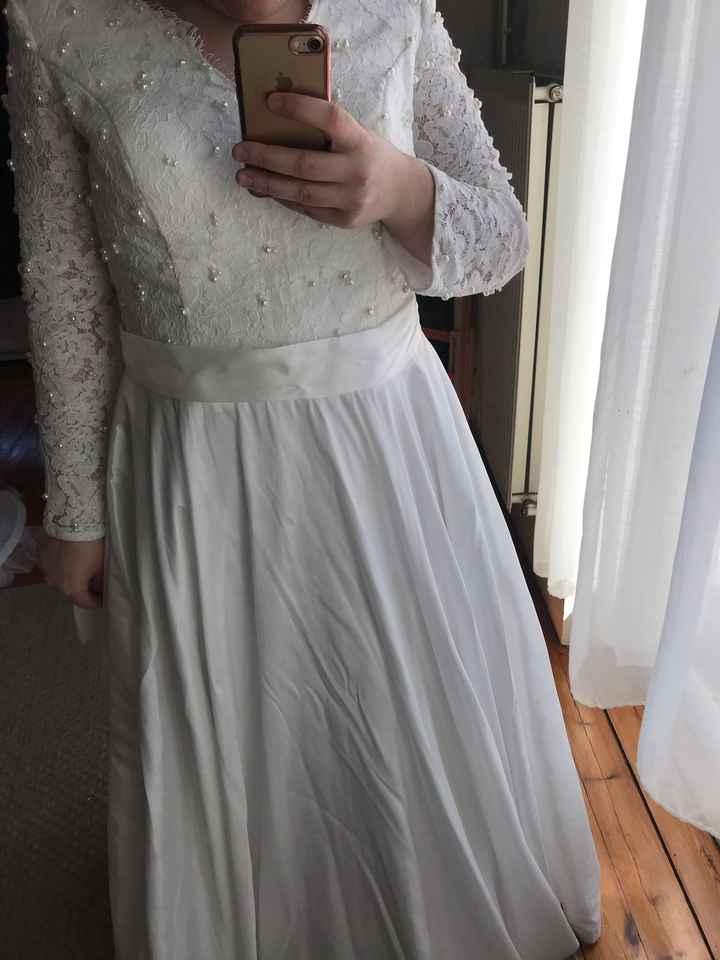 Le problème épineux ! Le poids et la robe - 1