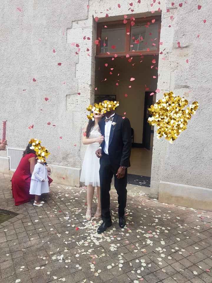 Mariage civil le 25juillet ! 💕 des masques et de l'amour . - 1