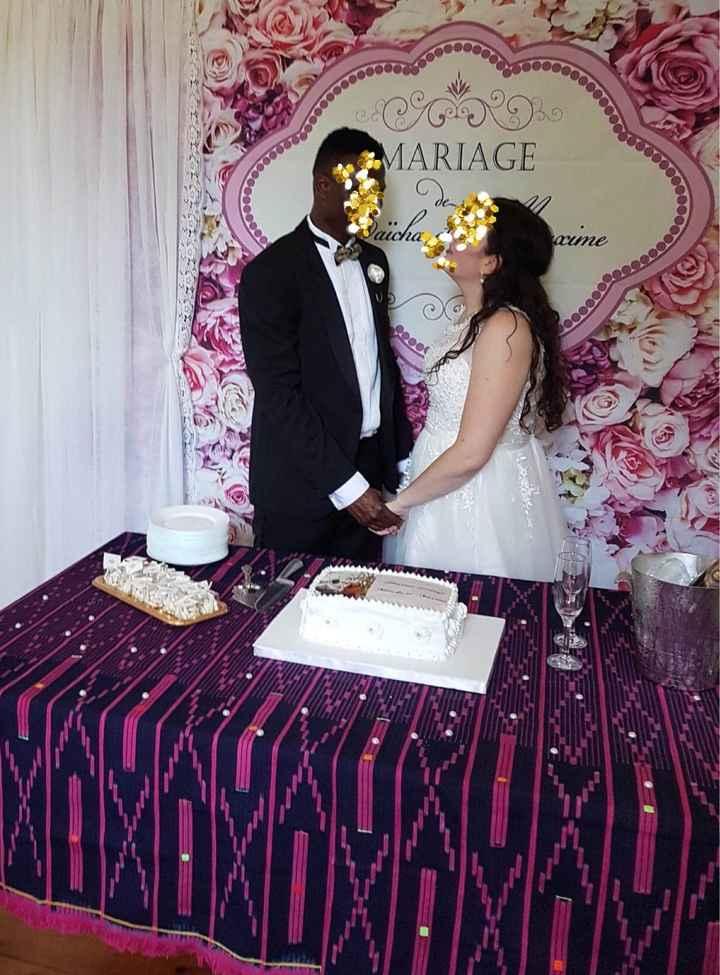 Mariage civil le 25juillet ! 💕 des masques et de l'amour . - 2