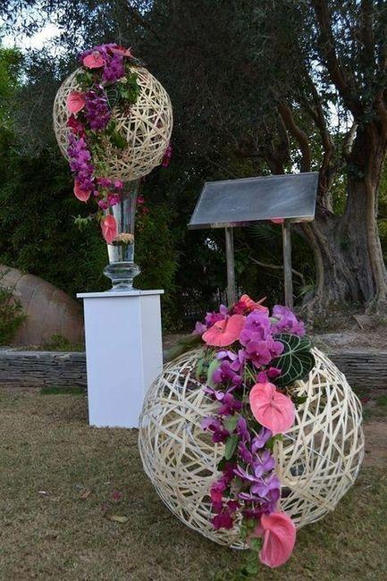 Fleur tropicale mariage thème exotique/tropical 22