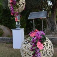Fleur tropicale mariage thème exotique/tropical - 1