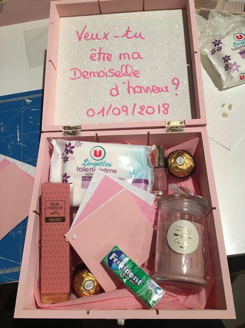 Cadeaux pour demoiselle d'honneur 14
