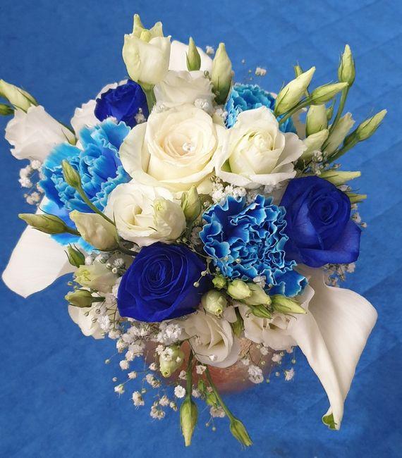 Essai bouquet de la mariée 1