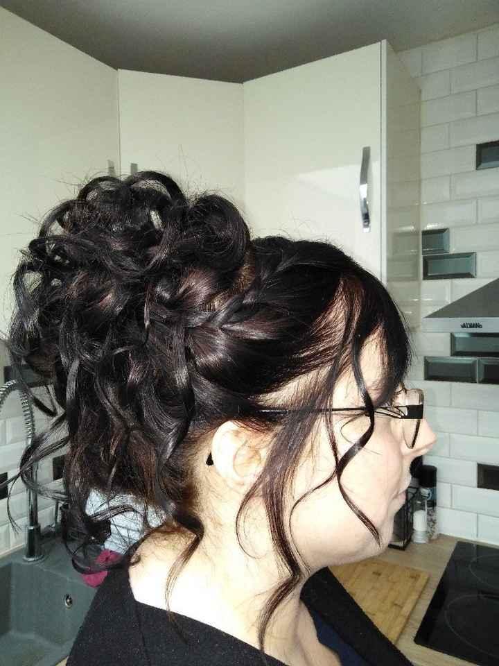 Première retouche et coiffure - 3