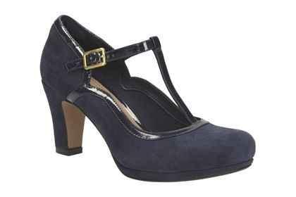 Chaussures Salomé bleue