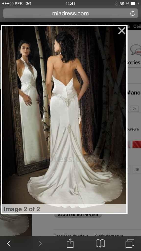 Aux filles qui ont fait les magasins de robe de marié - 1