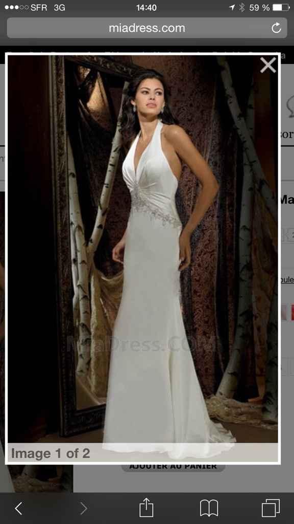 Aux filles qui ont fait les magasins de robe de marié - 2