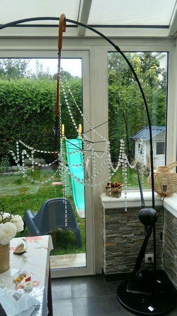 fabriquer un lustre avec un parapluie d coration forum. Black Bedroom Furniture Sets. Home Design Ideas