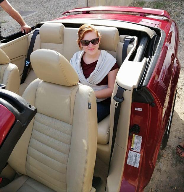 Robe princesse et voiture 2