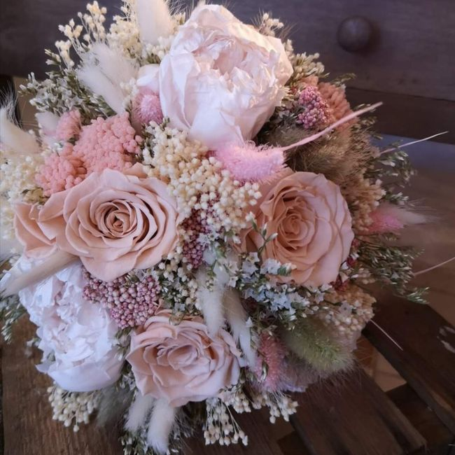 Bouquet de Mariee fleurs sechees? 11
