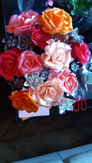 Bouquets en origami : vos astuces 1