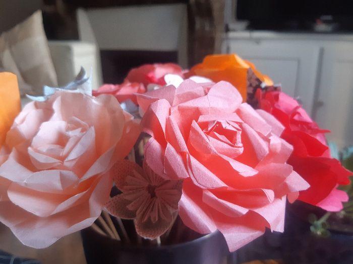 Bouquets en origami : vos astuces 2