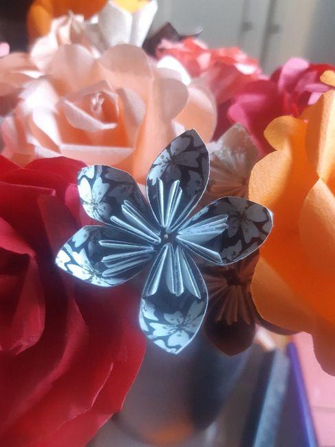 Bouquets en origami : vos astuces 3
