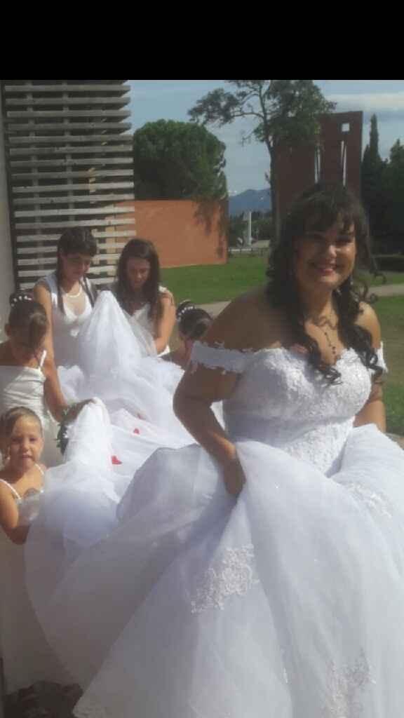 Montrez-moi vos looks de mariée :-) - 2