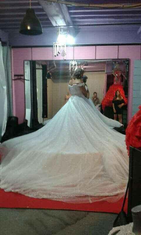 Montrez-moi vos looks de mariée :-) - 3