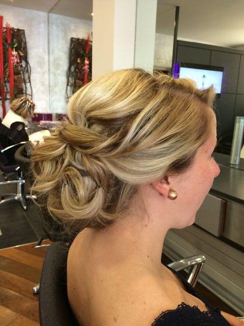 Essai coiffure de mariage beaut forum - Salon de coiffure qui recherche apprenti ...