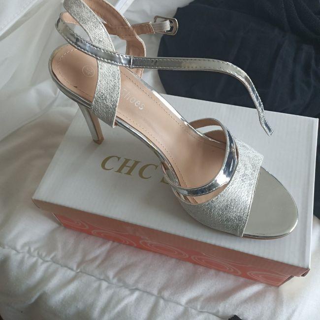Chaussures argentées 2