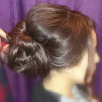 Mon essai coiffure :) - 1