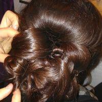 Mon essai coiffure :) - 3