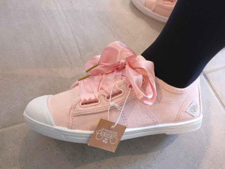 Deuxième paire de chaussures reçues ! Mariée en baskets ! - 2