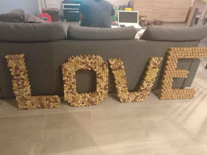 Mon love géant : plus de 800 bouchons de bouteilles ! - 1